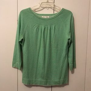 Banana Republic women's striped blouse